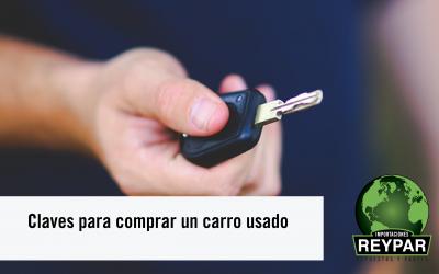 Claves para comprar un carro usado