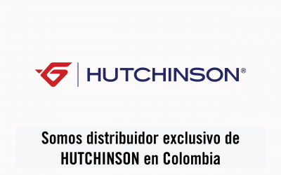 Somos distribuidor exclusivo de HUTCHINSON en Colombia