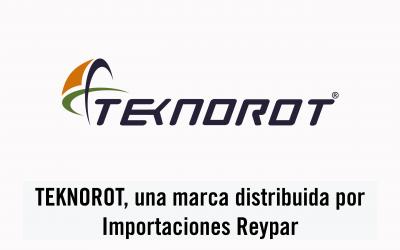 TEKNOROT, una marca distribuida por Importaciones Reypar