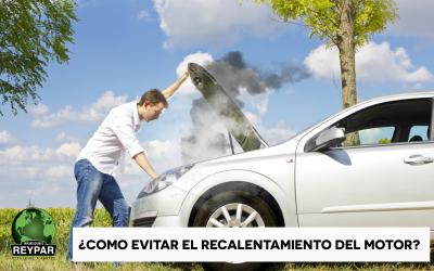 ¿Cómo evitar el recalentamiento del motor?