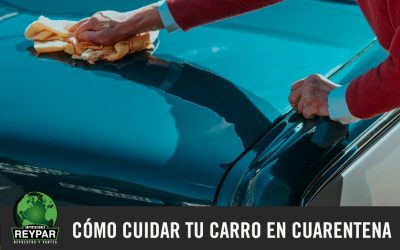 Cómo cuidar tu carro en cuarentena
